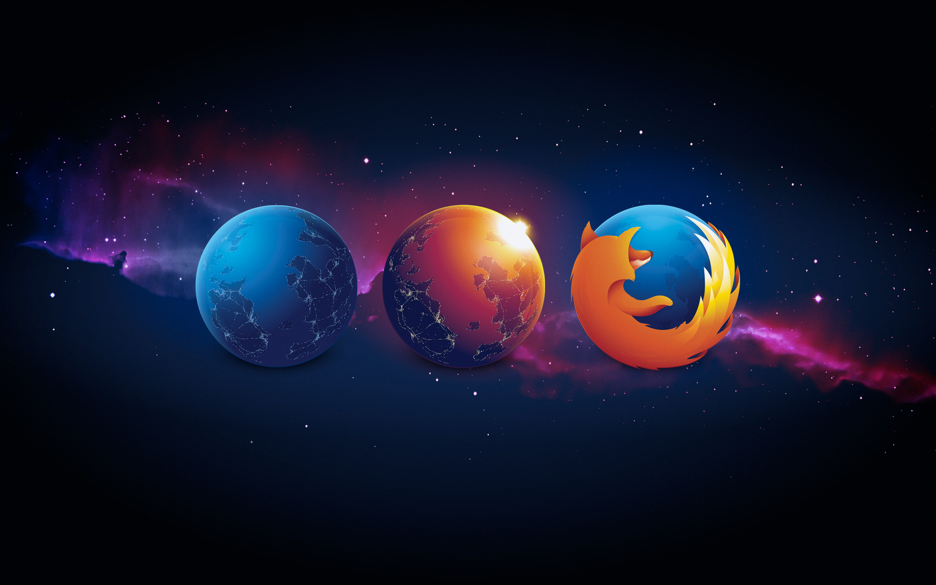 Nightly / Aurora / Firefox wallpaper