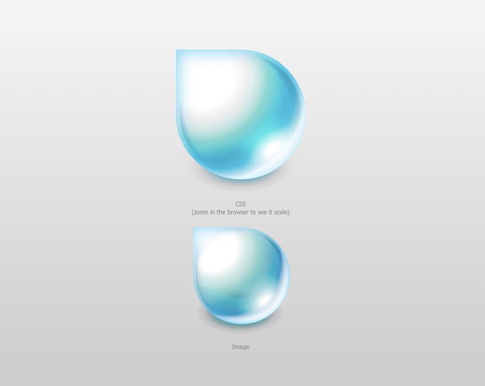 Raindrop Logo in CSS | Reticulating Splines